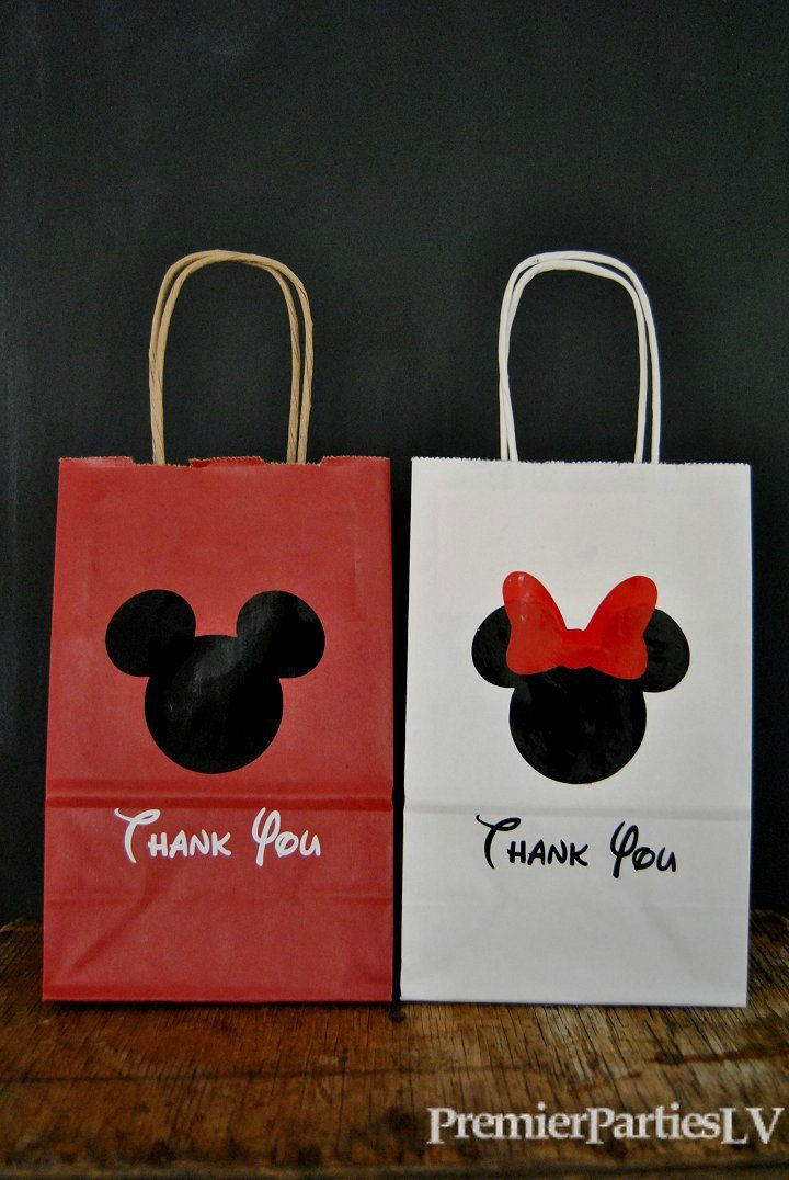 13 Mouse Party Favor Bags By PremierPartiesLV