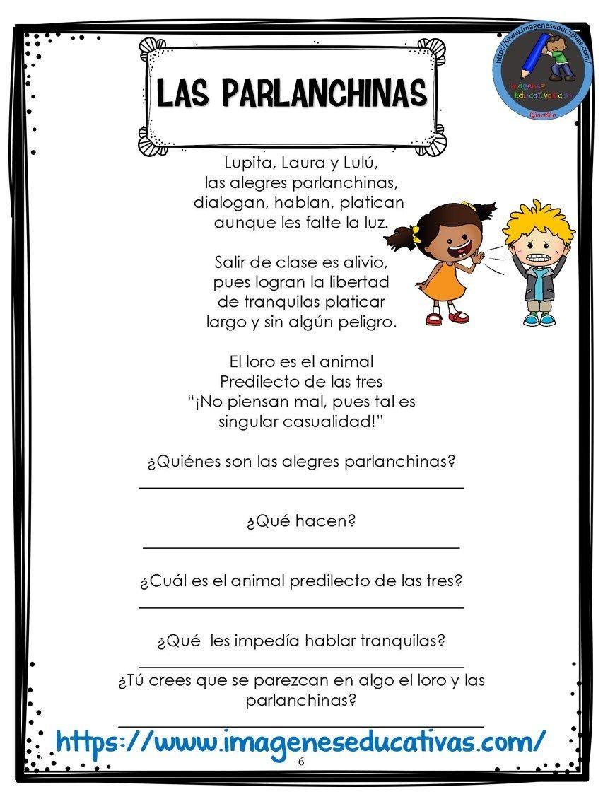 Cuaderno comprensión lectora (6) - Imagenes Educativas