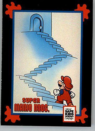 1991 Impel Trading Card Treats Nintendo Super Mario Bros. Stair Safety @ niftywarehouse.com #NiftyWarehouse #Mario #SuperMario #Nintendo #VideoGames #Gaming #MarioBrothers
