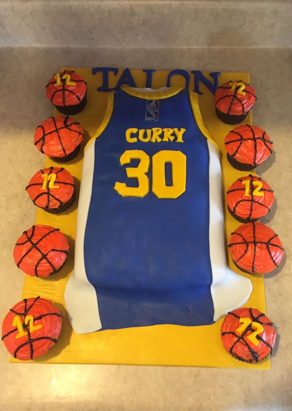 Stephen Curry Birthday Cake Stephen Curry Birthday