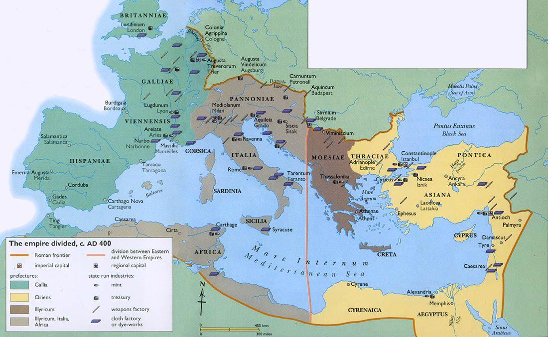 40 maps that explain the Roman Empire History Stuff
