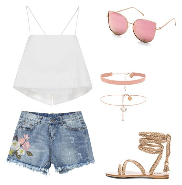 """Summer!"" by pastelpineapple02 on Polyvore featuring A.L.C."