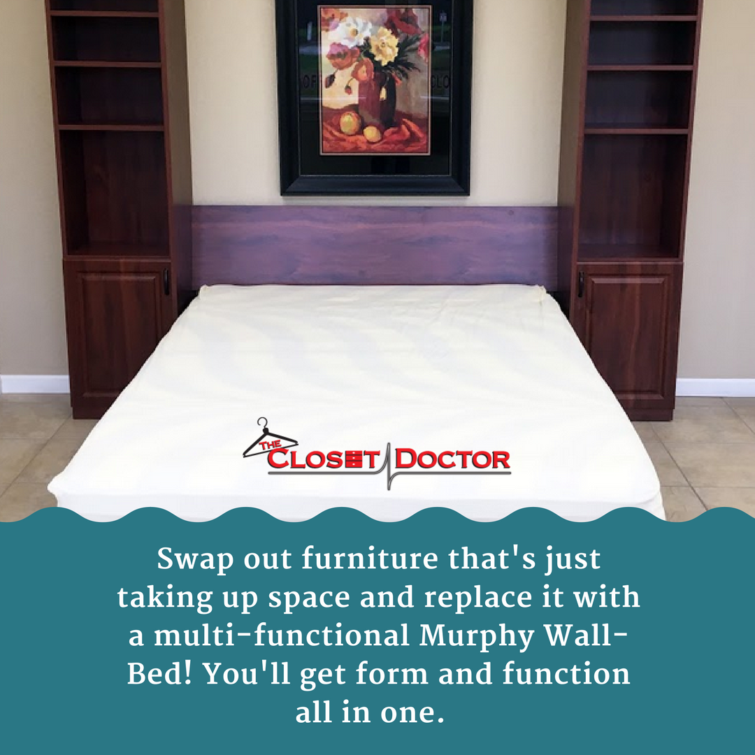 3 day murphy beds are now offered by the closet doctor