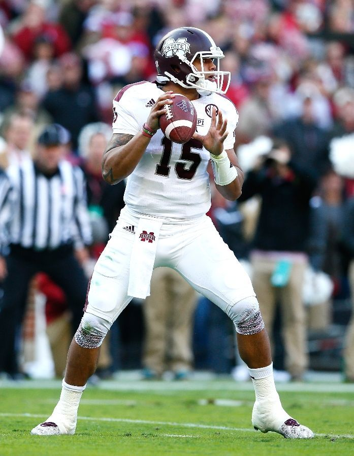 sports shoes 26d76 d8010 Dak Prescott Pictures - Mississippi State Bulldogs - ESPN ...