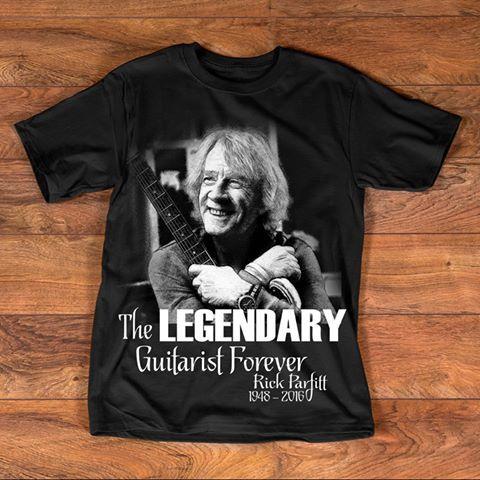 Tribut Rick Parfitt Hommage T-Shirt T-Shirt Status Quo Legend R.i.p