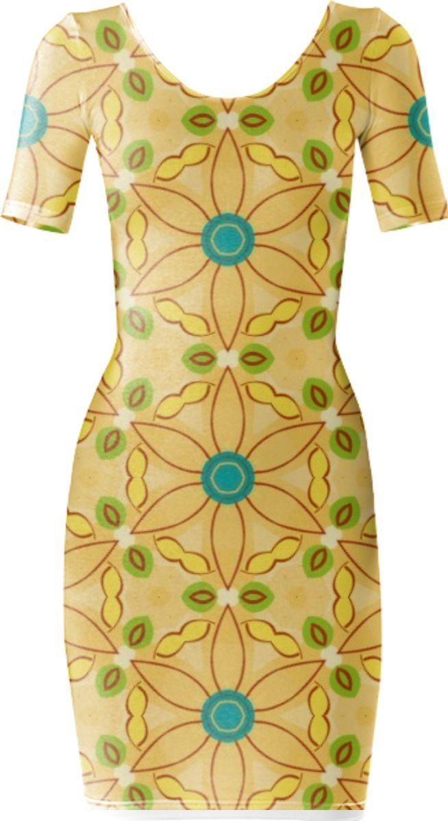 Buttercup Bodycon Dress