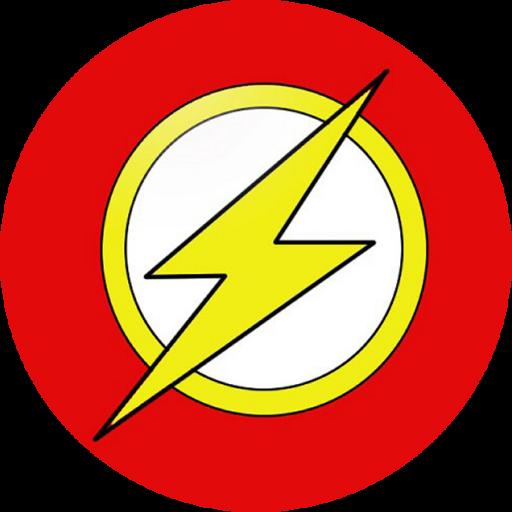 Flash Logo Icon by mahesh69a SUPER HERO'S RKIDS
