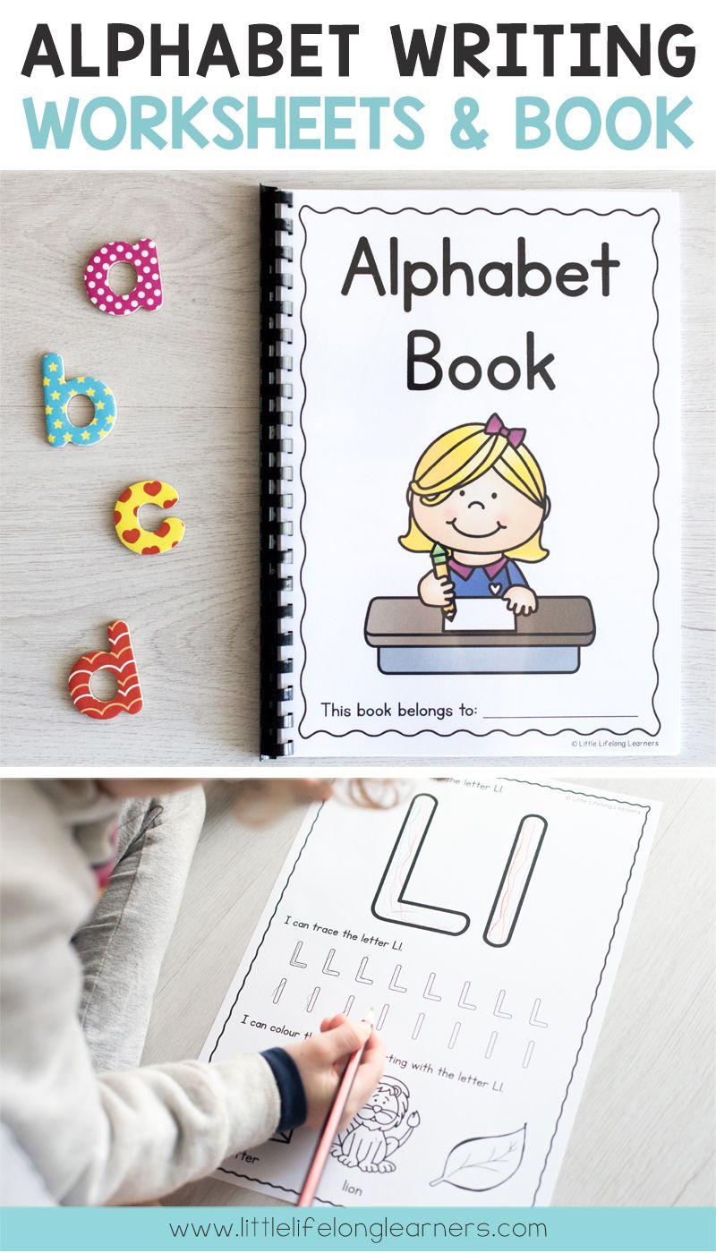Alphabet Writing Worksheets And Printable Book Printables For Australian Teachers Prep Pre Writing Worksheets Alphabet Writing Worksheets Alphabet Writing [ 1400 x 800 Pixel ]