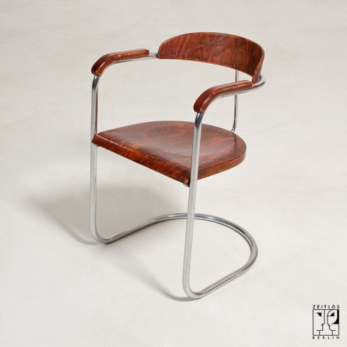 Cantilever Chair By Hans And Wassili Luckhardt