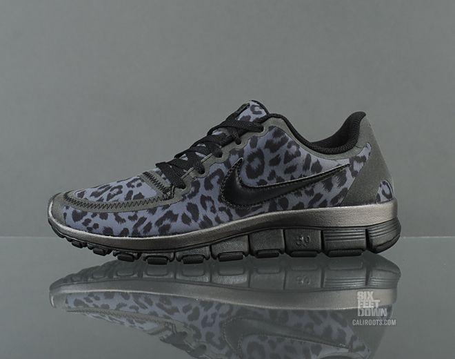 the latest e8537 e579c Nike WMNS Free 5.0 V4   Sole Collector, I must have these! Nike WMNS Free  5.0 V4   Sole Collector Leopard Print Nikes ...