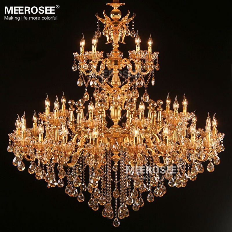 Find More Chandeliers Information about Royal Golden Crystal