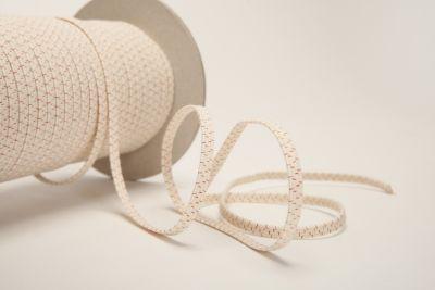 Rubber Bands Organic In 2021 Elastic Rubber Ecru Organic Cotton