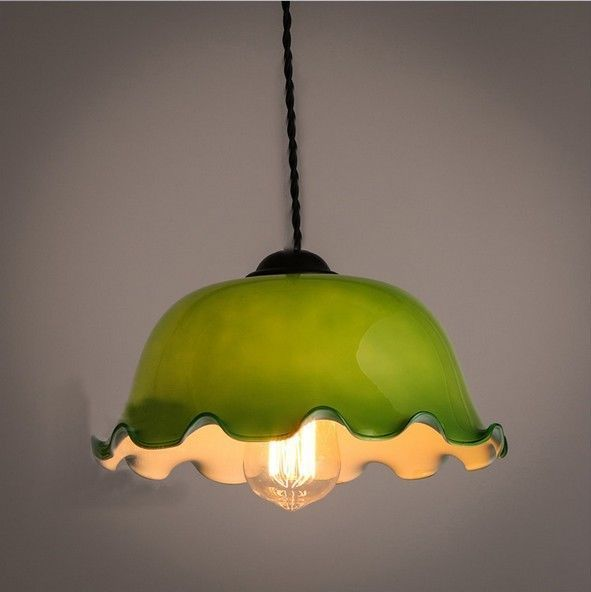 Vintage industrial loft green glass pendant ceiling light lamp vintage industrial loft green glass pendant ceiling light lamp retro fixture mozeypictures Image collections