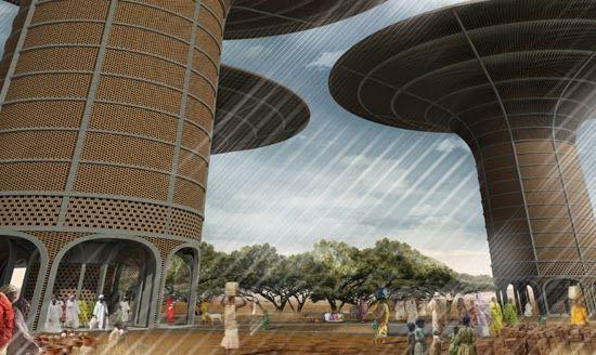 pinluciana terhall on africa architecture | pinterest