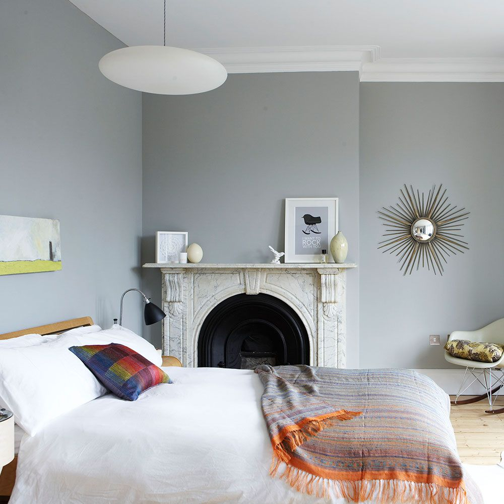 Grey Bedroom Ideas With Calm Situation: Grey Bedroom Decorating