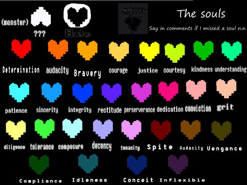 Da Souls By Aisice Undertale Souls Undertale Undertale Hearts