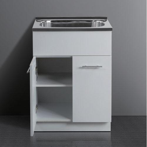 45L Laundry Tub with Polyurethane Cabinet