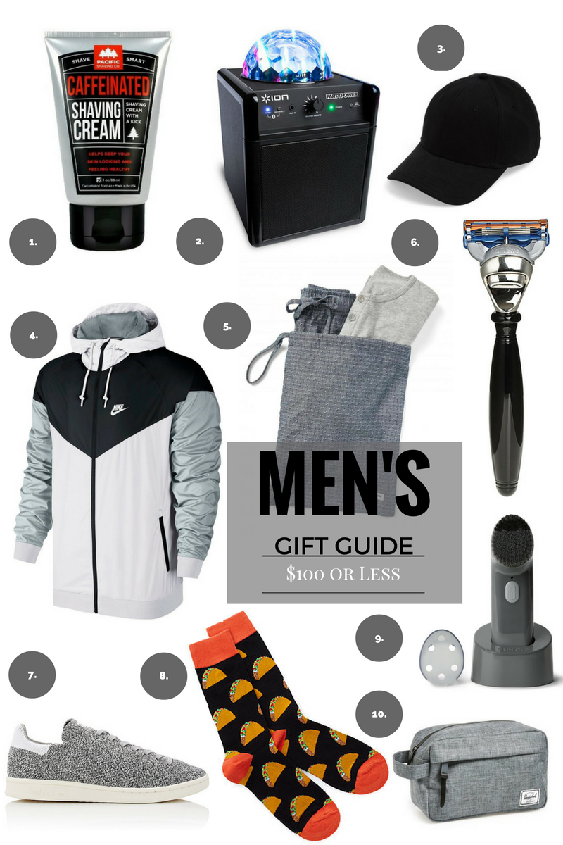 GIFT GUIDE Last Minute Gifts For Him 100 Or Less Birthday Husband