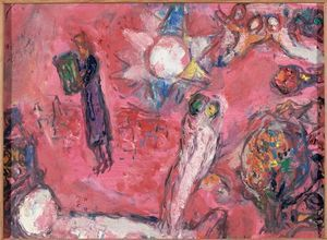 Song of Songs V - (Marc Chagall)