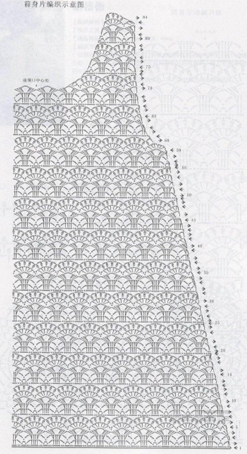 Красивые детские платье схема крючком схема фото 737