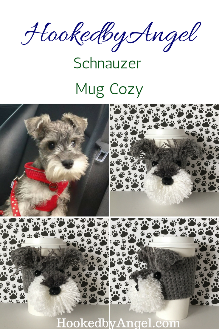 Slip this cozy on a favorite mug and you will have a paw-some day ...
