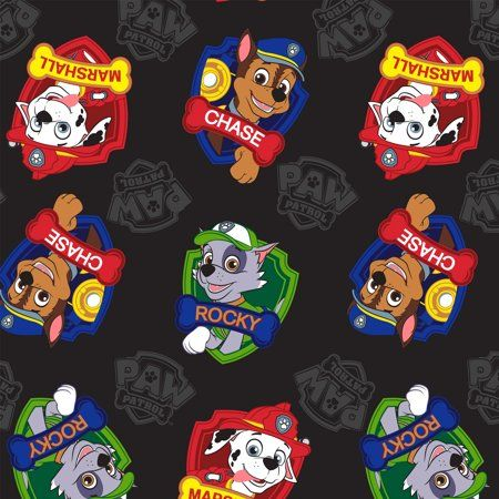 David Textiles Paw Patrol Marshall, Rocky, & Chase 1 5 Yd  Precut Heavenly Plush Fabric, Blue - Marshall paw patrol, Blue minky blanket, Sewing fleece, Fabric patterns diy, No sew fleece blanket, Making scarves - David Textiles Paw Patrol heavenly plush print is extremely soft and offer warmth without weight  100% polyester, easy care wash and dry, no ironing required  Sold by the each as a versatile 1 5 yard x 60 inch wide precut  Perfect for throws, warmwear and more  One touch and your little one will fall in love with this heavenly soft fabric! Color Blue
