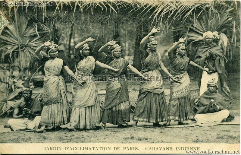 1906 Jardin D Acclimatation Caravane Indienne 15 Human Zoo