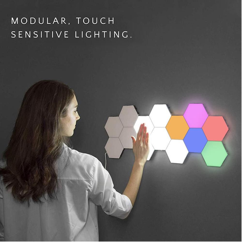 Modular Touch Lights Elitgadgets In 2020 Sensor Night Lights Led Wall Lamp Home Decor Color