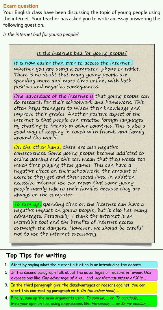 A For And Against Essay | LearnEnglishTeens Also Check: How Many Words Can  You Make From The Random Assortment Of 16 Letters In A Time Limit Of 3 Mu2026
