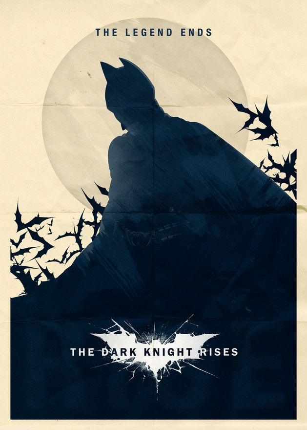 Dark Knight Rises – Minimalist Poster 1 by Doaly