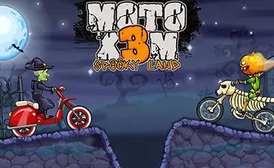 Moto X3m Juegos Juegos Ws Moto Pool Party Spooky