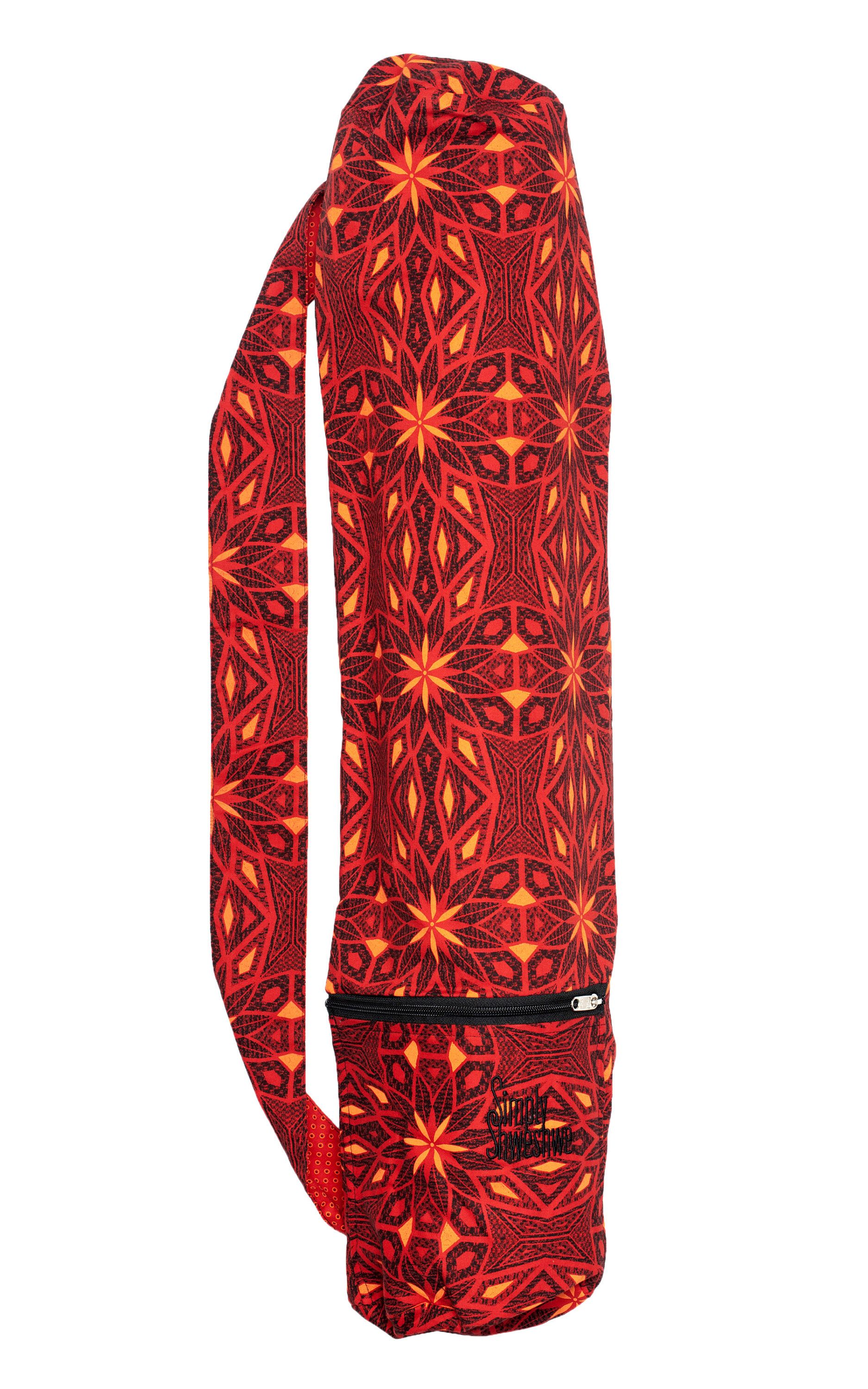 Excited to share the latest addition to my  etsy shop  Red Yoga Mat Bag f5adc8ad10ff4