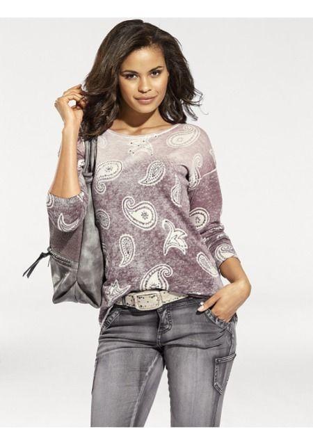 Пуловер купить в Интернет магазине Quelle за 3199.00 руб - с доставкой по Москве и России