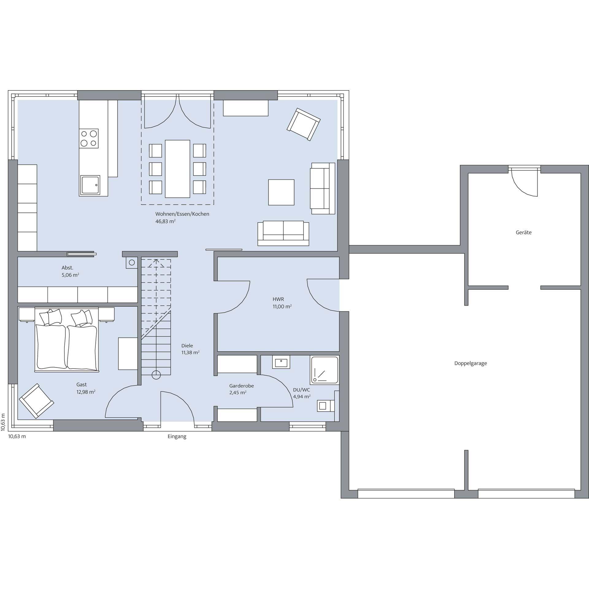 Kundenreferenz Haus Jessen - BAUMEISTER-HAUS® Kooperation e.V. #arquitectonico