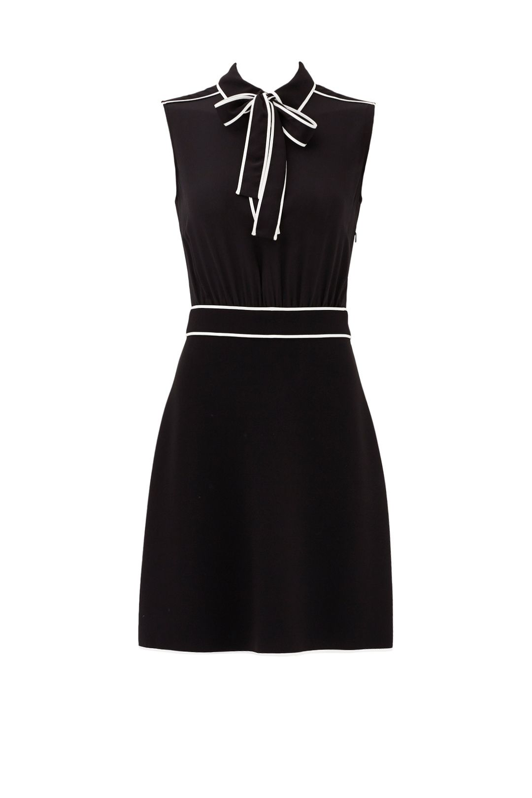 Boutique Moschino Black Bow Tie Dress Corporate Dress Dresses Bow Tie Dress