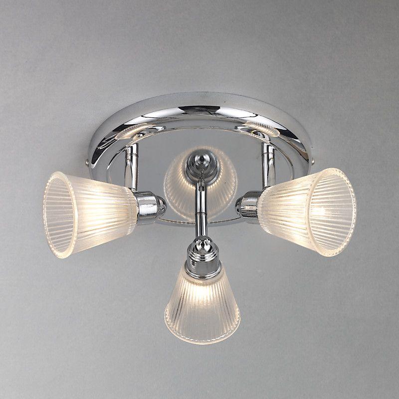 John Lewis Lucca 3 Spotlight Bathroom Ceiling Plate Bathroom Ceiling Bathroom Ceiling Light Ceiling Lights
