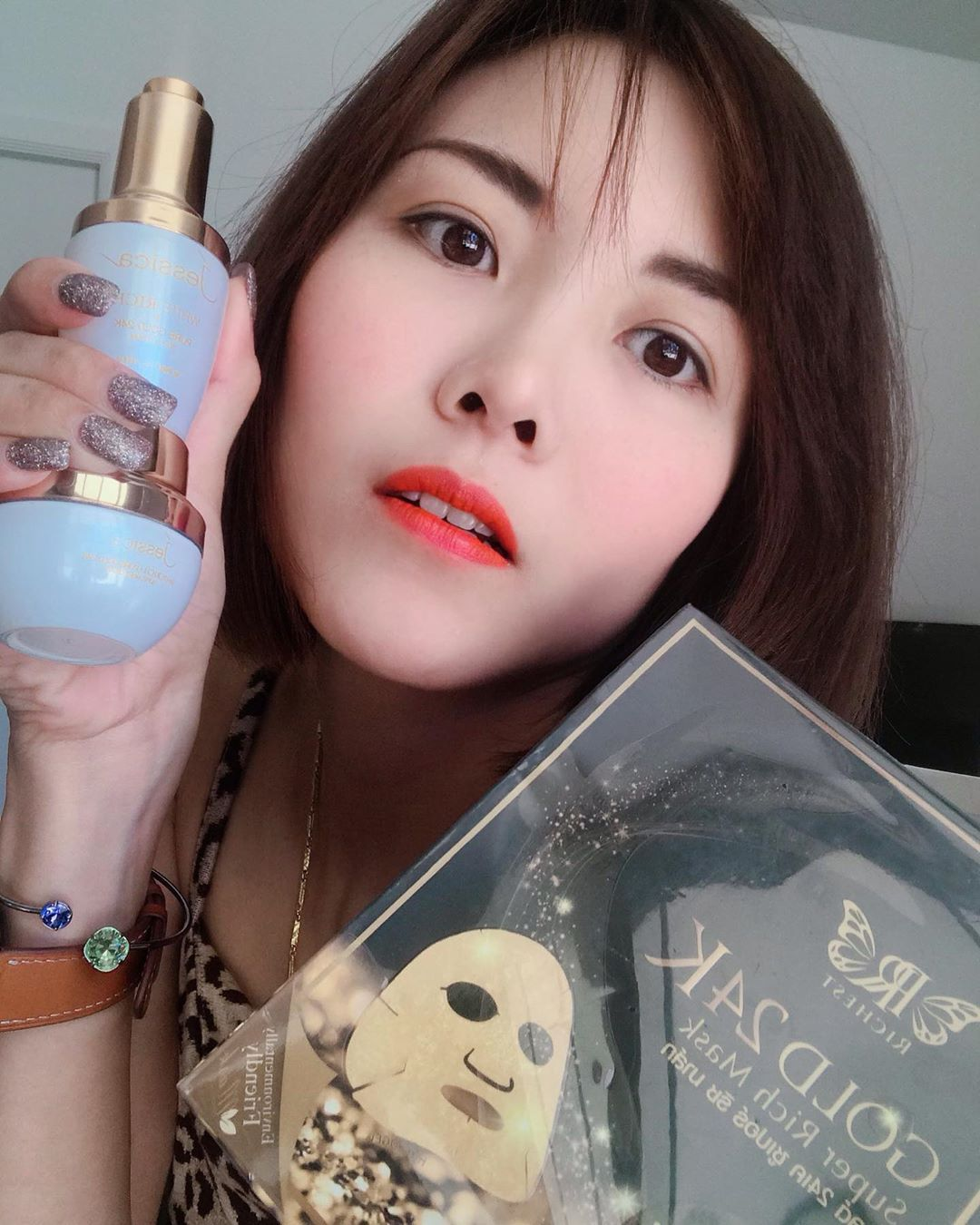 🌟Jessica set serum&night cream $158 + Richest Pure Gold 99.99% $85 🌟 .. ... #followme #makeupartist...