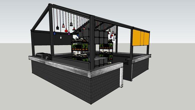 Coffee Island structure - 3D Warehouse | Interior design aka my love