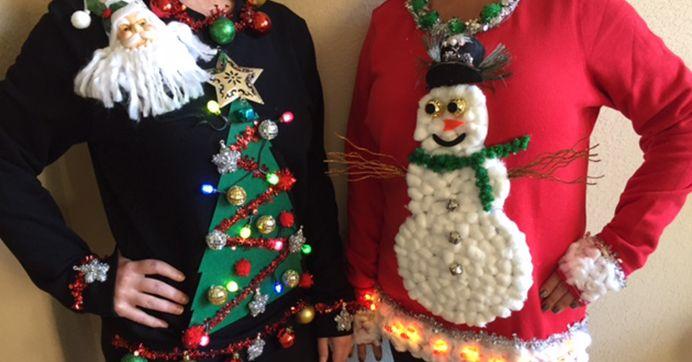 Ugly Christmas Sweaters Diy