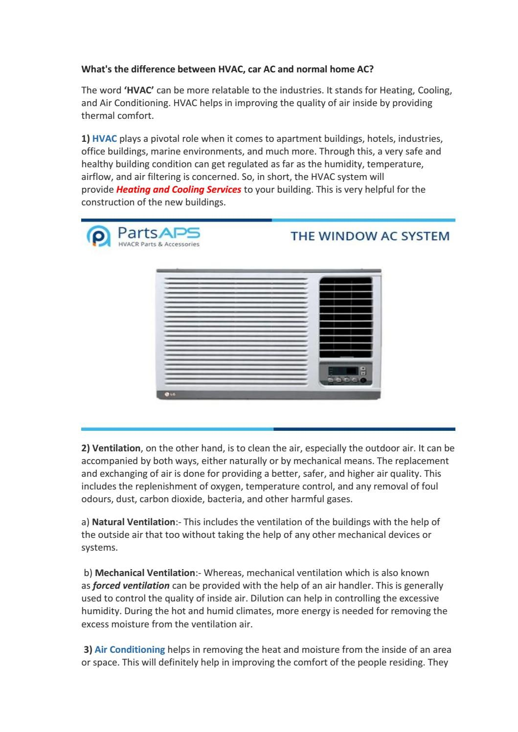 Hvac Parts And Accessories Air Conditioner Parts Thermal