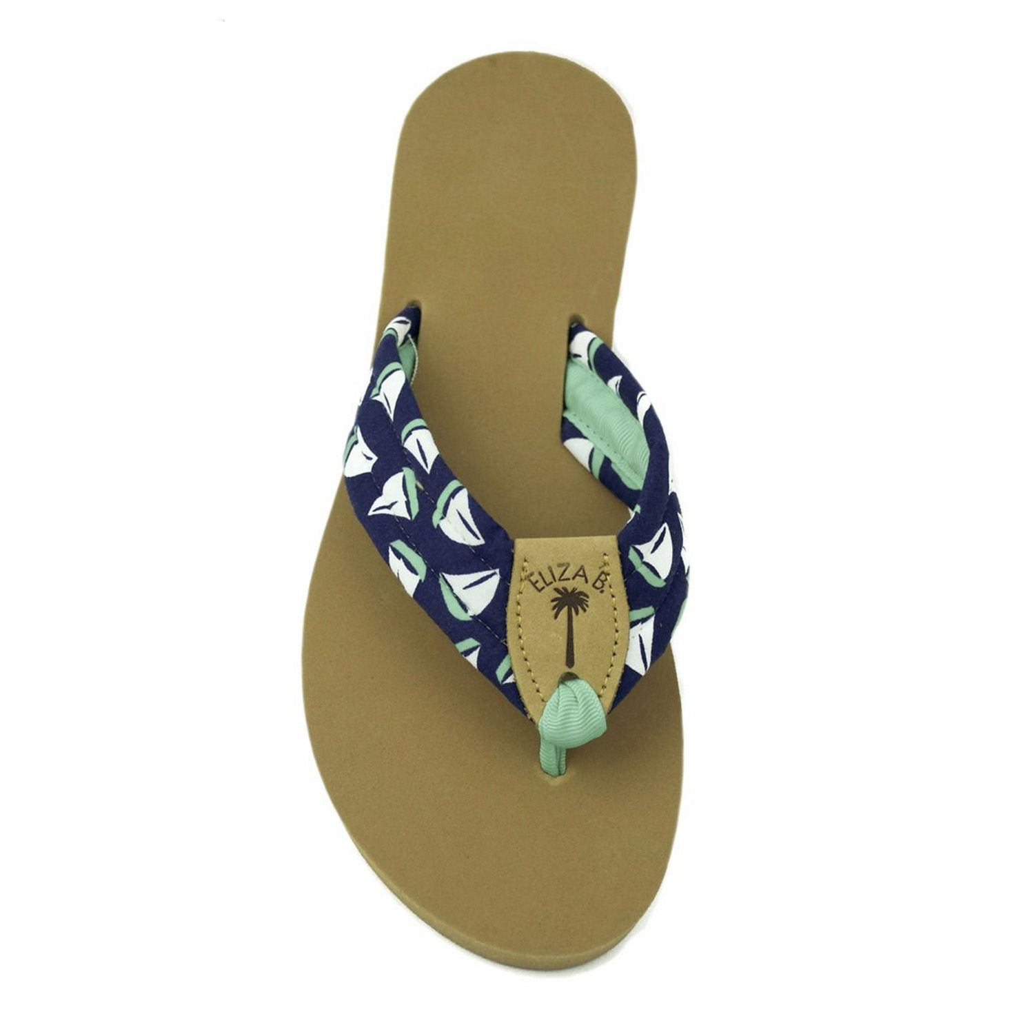 b77c72a3dfbb Check out the deal on Sailboat Fabric Sandal with Lucite Toe Ribbon at Eliza  B