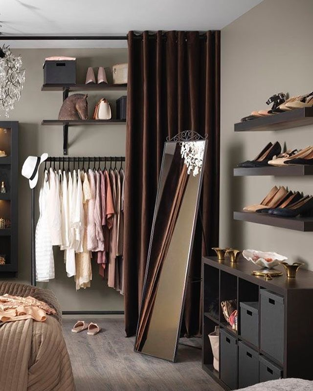 Ikea Wandregal Schlafzimmer: Closet & Vanity In 2019