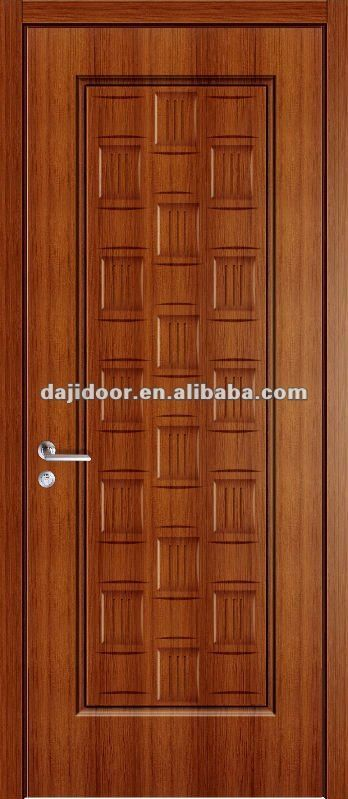 Moderno de madera melamina puerta de la f brica dj p032 for Puertas principales modernas de madera
