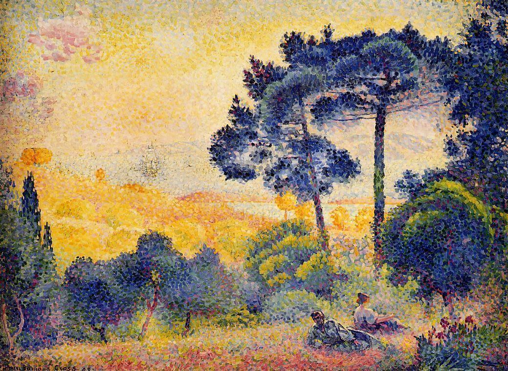 Картинки по запросу henri edmond cross impressionism
