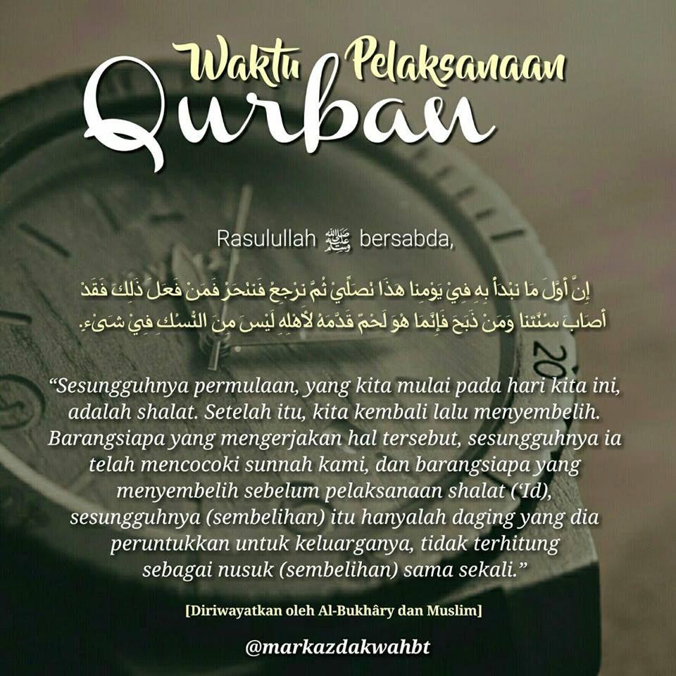 Waktu Pelaksanaan Sembelih Hewan Kurban Waktu Pelaksanaanqurban Qurban Setelahsholatid Kapan Kurban Dzulhijjah Dzulhijah Bula Agama Pengetahuan Islam