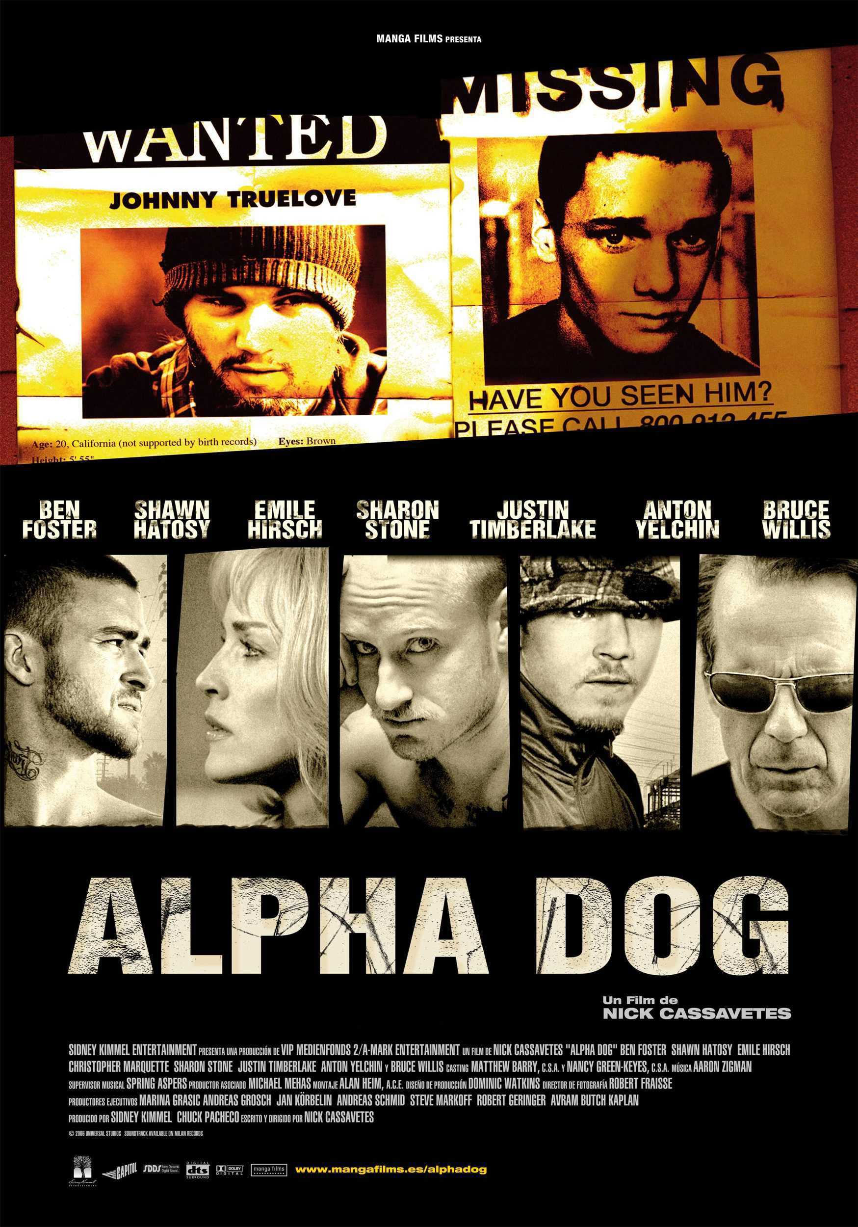 Alpha Dog 2006 Alpha Dog Dog Movies This Is Us Movie
