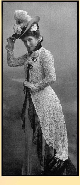 Lillie Langtry   lLillie Langtry #englishdresses1880