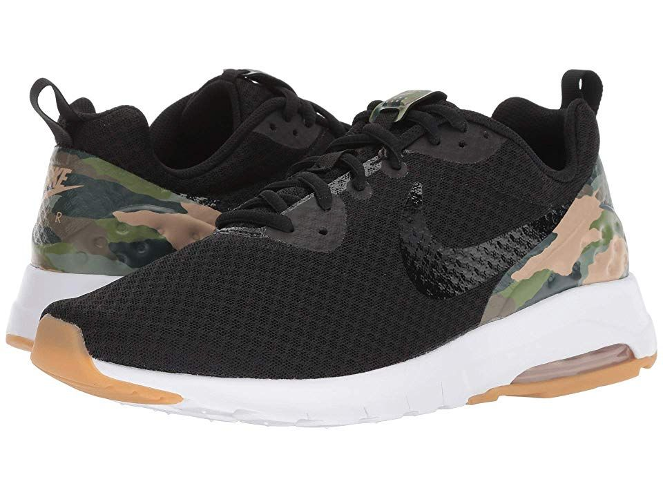 4bc0688b Nike Air Max Motion Low Premium Men's Running Shoes Black/Black/Mushroom/Gum  Light Brown