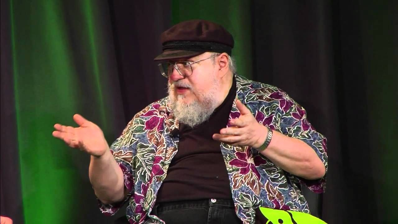 George R.R. Martin | Talks at Google | at approx 48mins he discusses building his religions