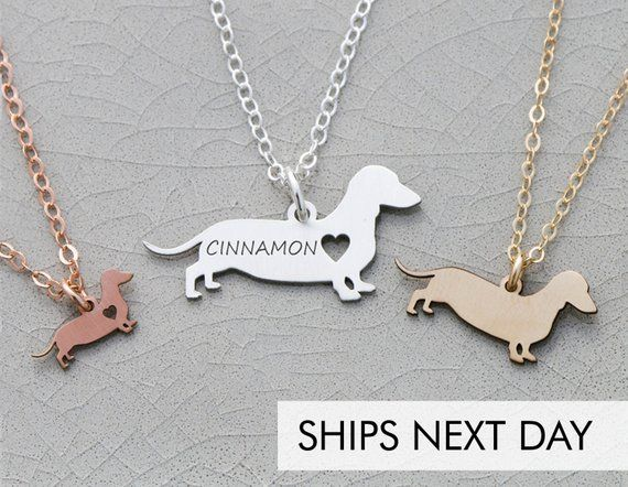 Dachshund Necklace Doxie Gift Dachshund Jewelry Doxie Sausage